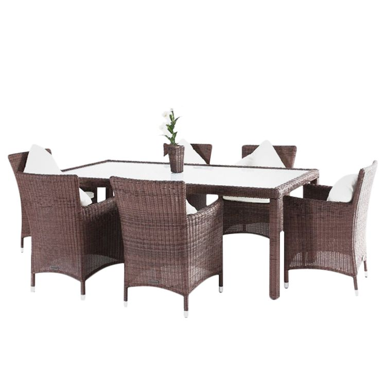 essgruppe 6 personen rattan essgruppe polyrattan essgruppe pico xl f r 6 personen 11 teilig. Black Bedroom Furniture Sets. Home Design Ideas