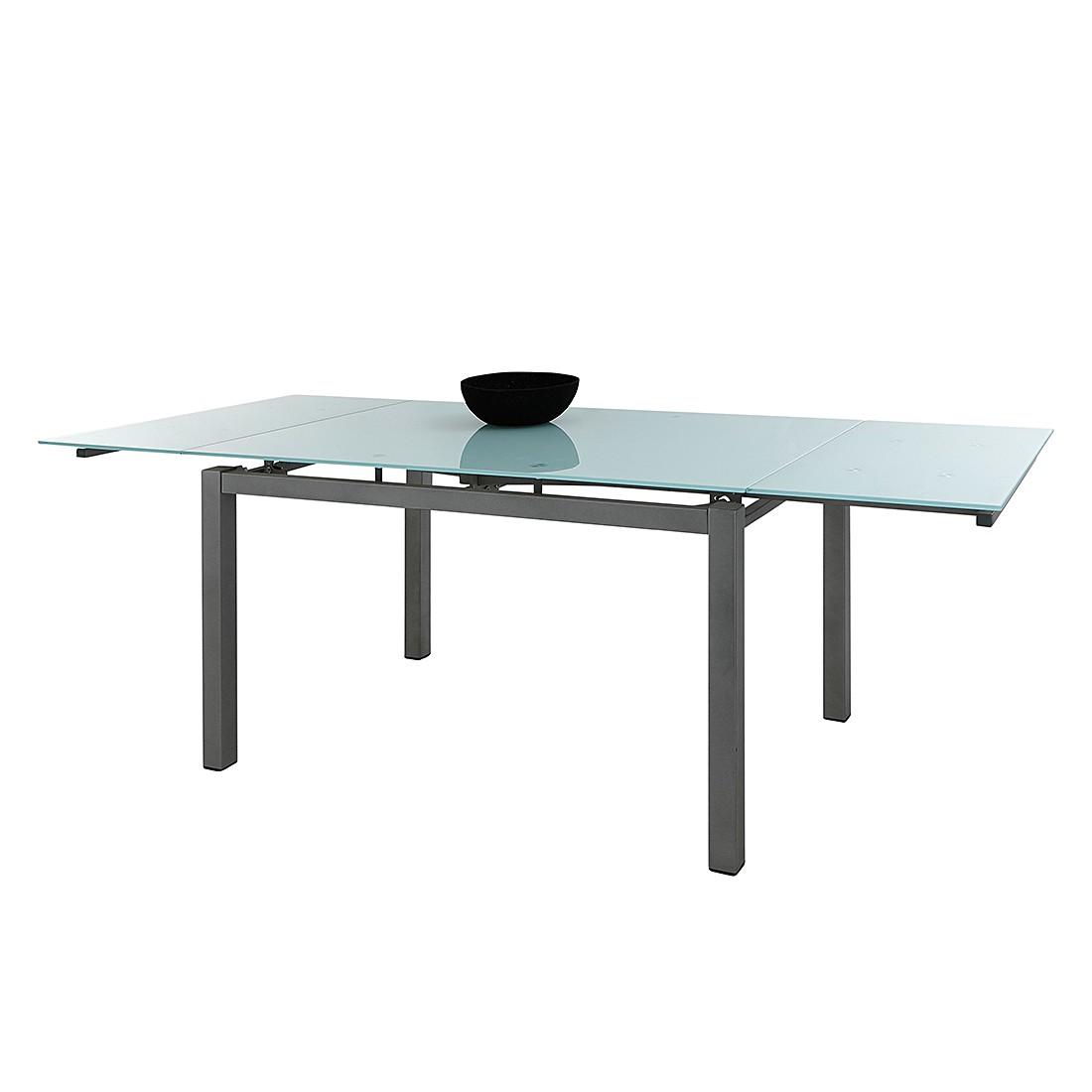 Eettafel Borna Uitschuifbaar Wit Glas Home Design kopen