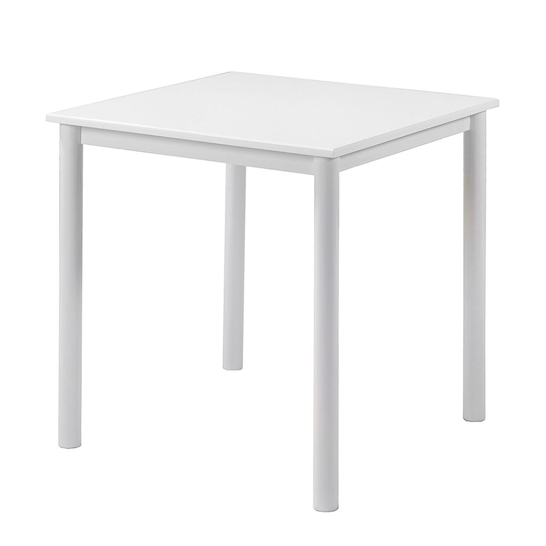 esstisch hochglanz wei ca 70x70 cm preisvergleich g nstig kaufen bei. Black Bedroom Furniture Sets. Home Design Ideas