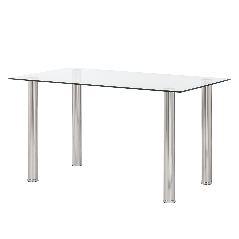 Tavolo pranzo piano vetro moderno 608 allungabile  Prezzo e Offerte Sottocosto