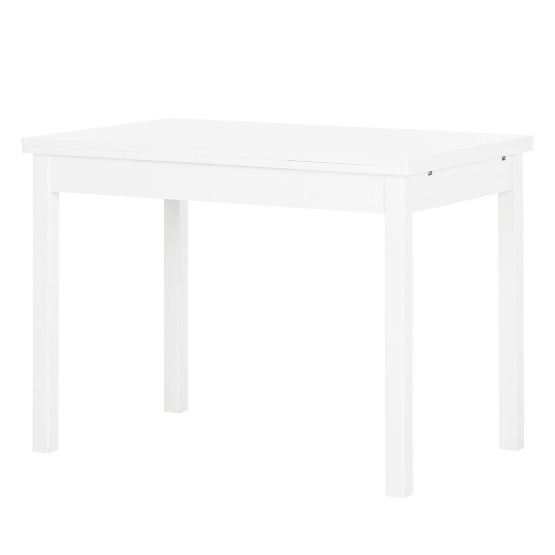 Esstisch Hugo – Ausziehfunktion – Weiß, Home Design günstig online kaufen