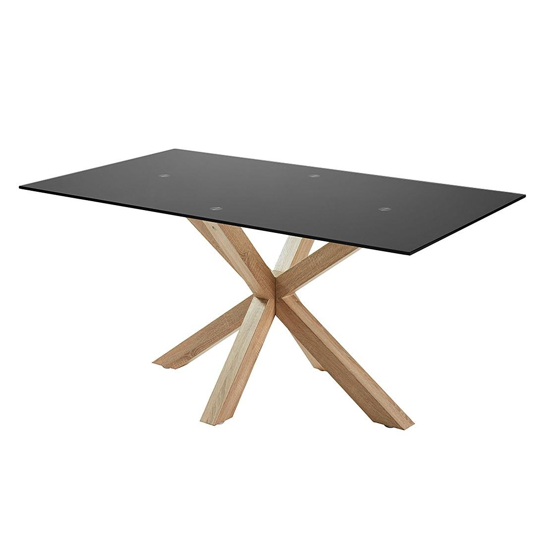 esstisch glas schwarz g nstig kaufen. Black Bedroom Furniture Sets. Home Design Ideas