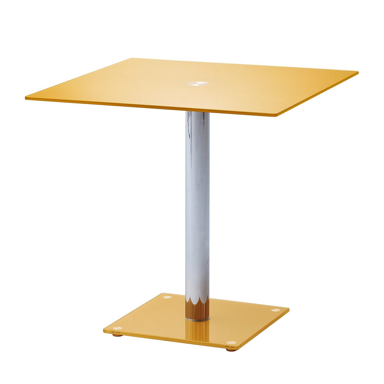 Tavolo Da Pranzo Lestard Giallo Oro Roomscape Da Home24 It 30 19 Brand  #9F6116 1500 1500 Altezza Massima Tavolo Da Pranzo