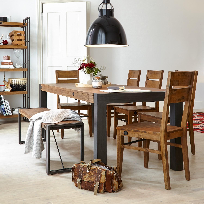 esstisch manchester von furnlab mit ausziehfunktion nur. Black Bedroom Furniture Sets. Home Design Ideas