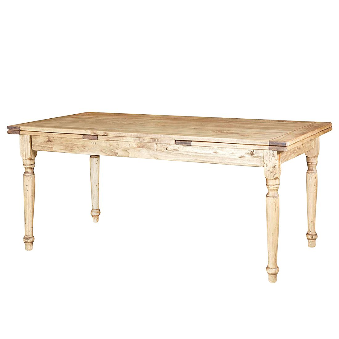 Table manger massello iv extractible tilleul massif for Table extractible