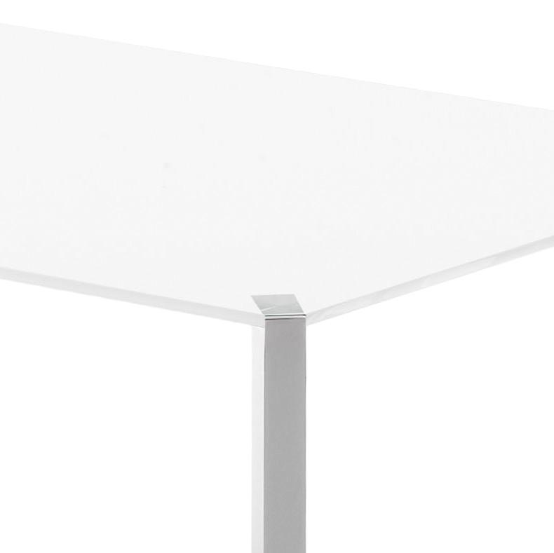 esstisch 140 x 90 weiss innenr ume und m bel ideen. Black Bedroom Furniture Sets. Home Design Ideas