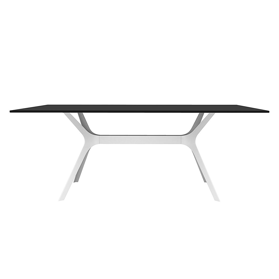 Esstisch schwarz wei neuesten design for Esstisch 90 x 60 cm