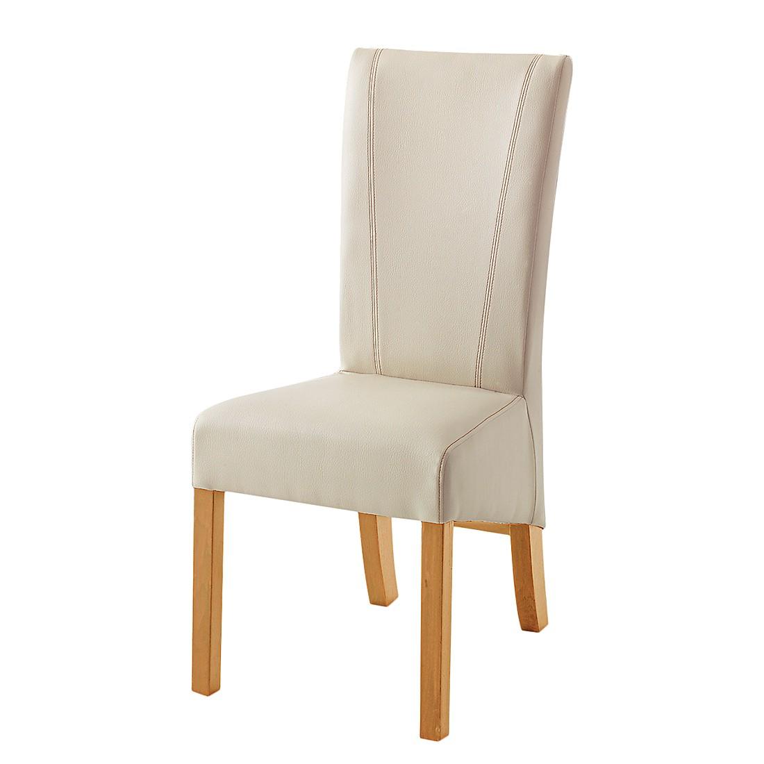 esszimmerstuhl karlsborg 2er set kunstleder beige. Black Bedroom Furniture Sets. Home Design Ideas