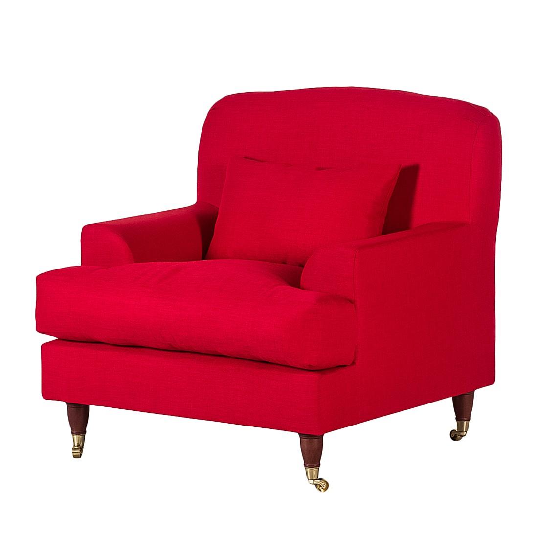 Sessel Bent – Webstoff Rot, Maison Belfort online bestellen