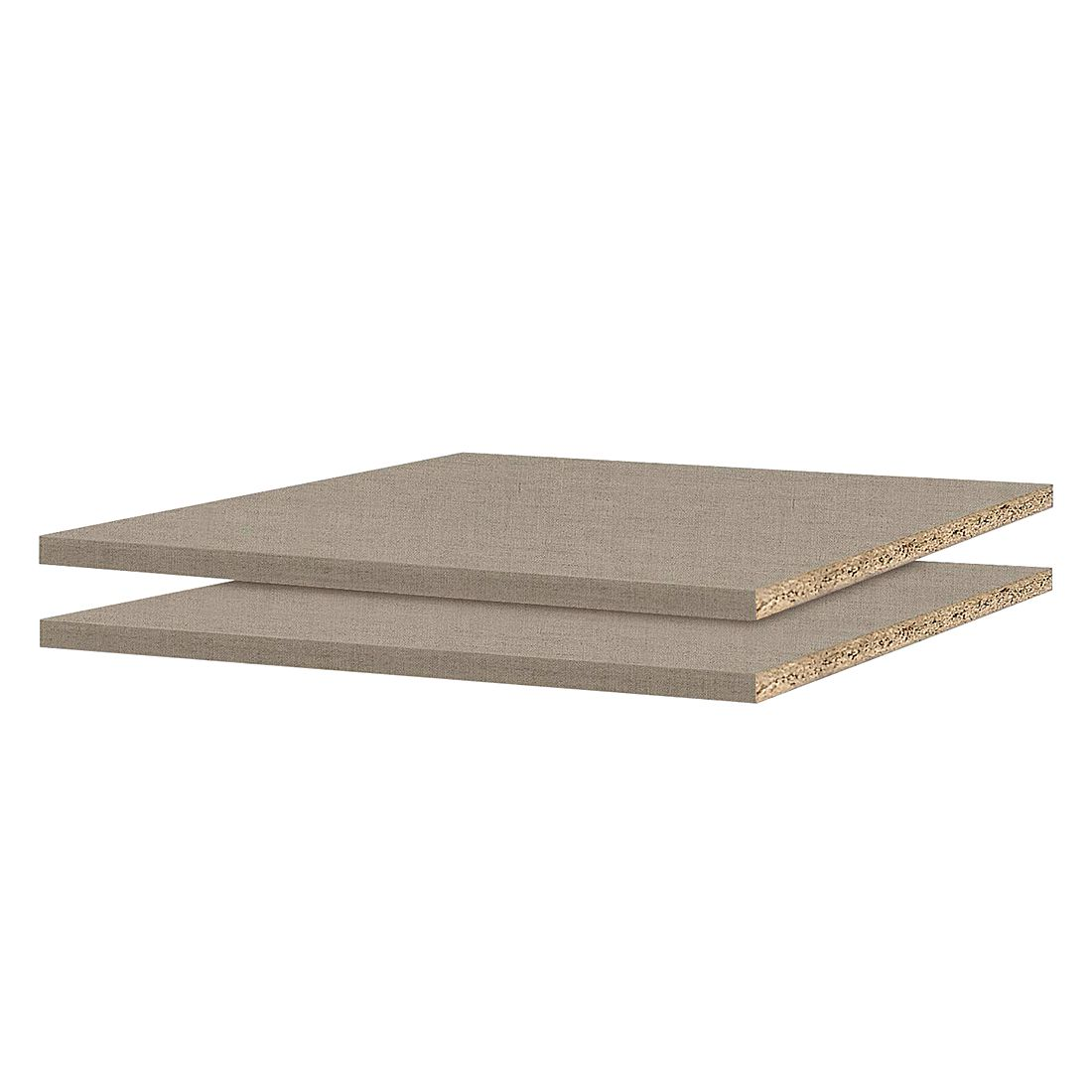 45er Fachboden (2er-Set) – für Schranktiefe 54/56cm, Rauch günstig kaufen
