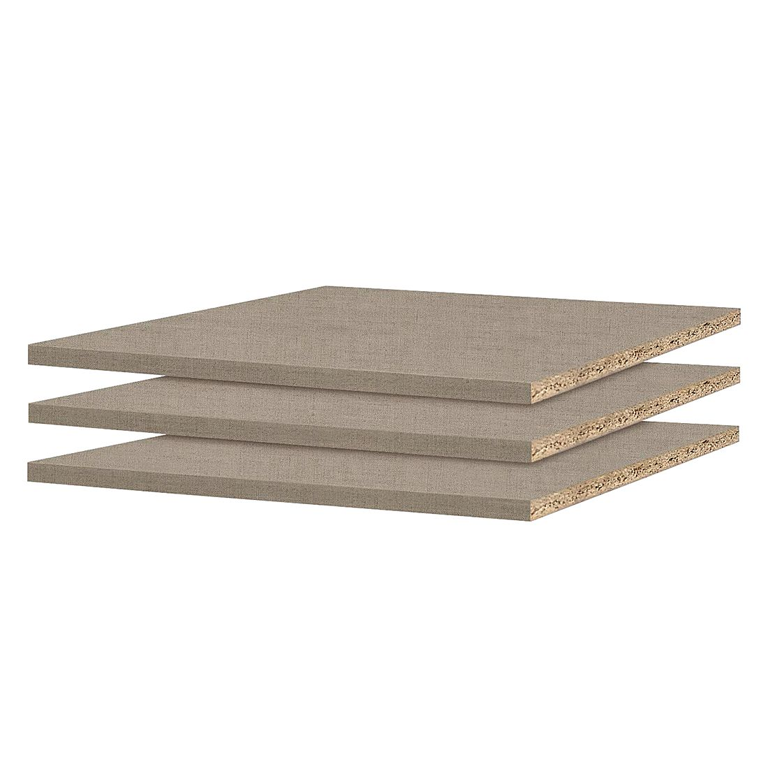 90er Fachboden (3er-Set) - für Schranktiefe 54/56cm