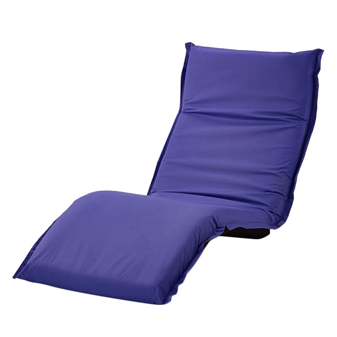 Faltliege Relax – Polyester – dunkellila, PureDay kaufen
