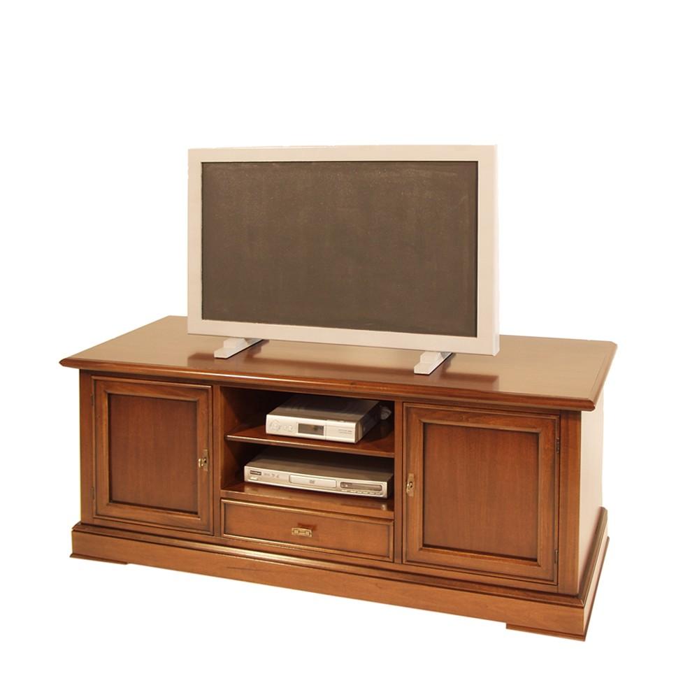 fernsehtisch samba nussbaum teilmassiv elegance inliving g nstig online kaufen. Black Bedroom Furniture Sets. Home Design Ideas