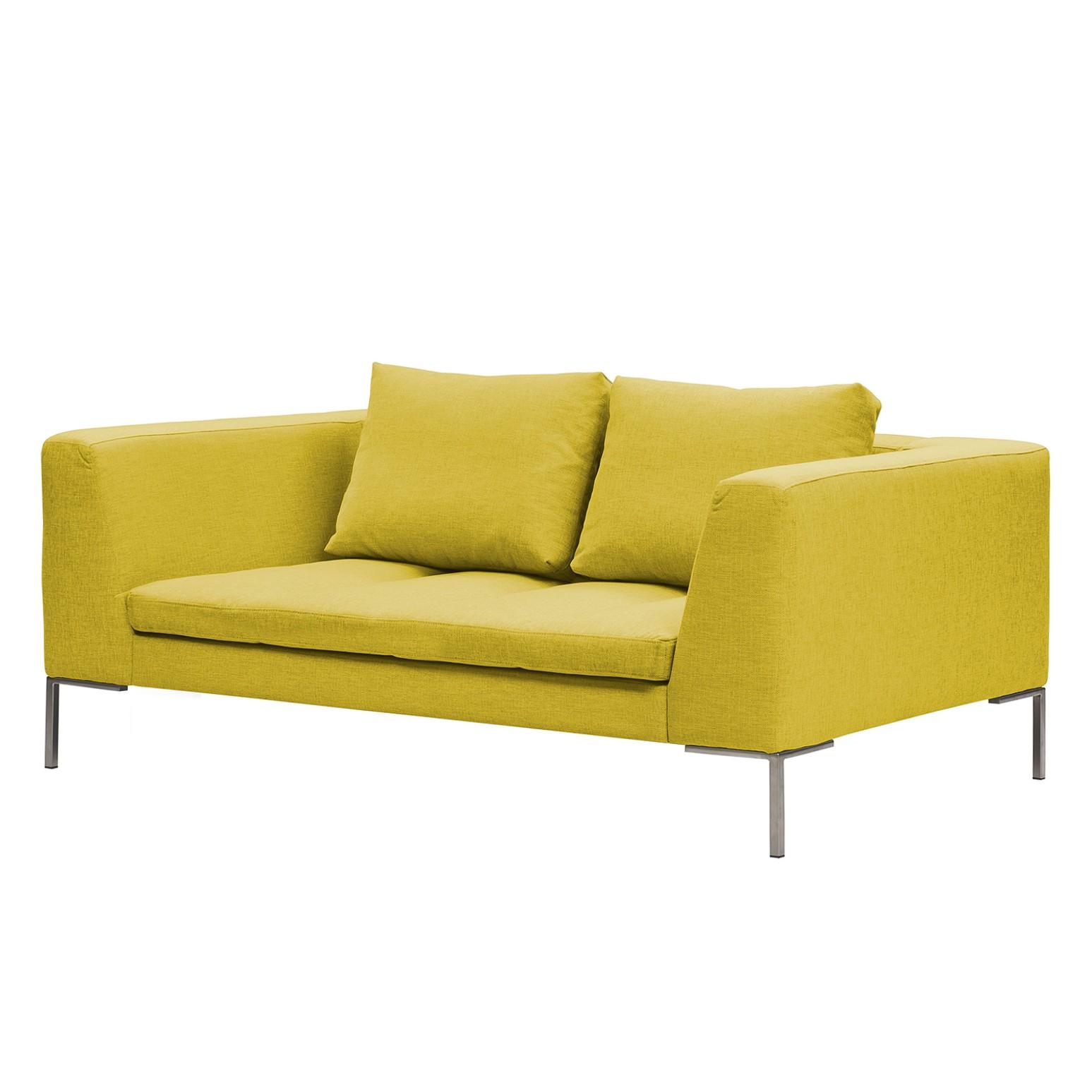 Sofa Madison (2-Sitzer) - Webstoff - Stoff Milan Gelb, Studio Copenhagen