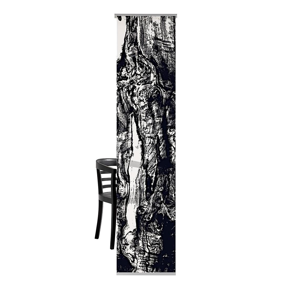 Flächenvorhang Holz – Schwarz, emotion textiles bestellen