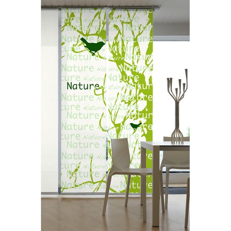 Flächenvorhang Nature – Grün, emotion textiles bestellen