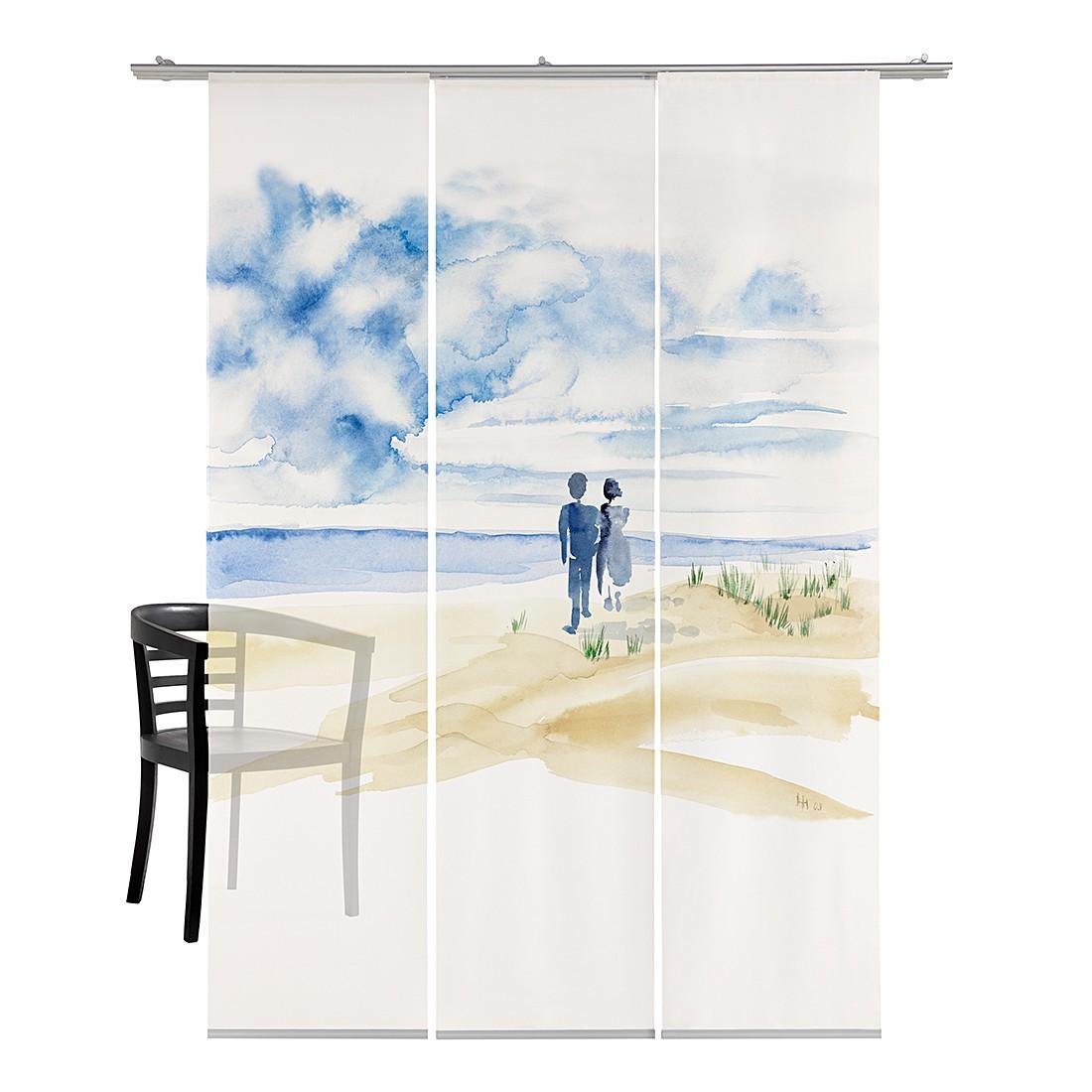 fl chenvorhang l wenzahn hell emotion textiles g nstig kaufen. Black Bedroom Furniture Sets. Home Design Ideas