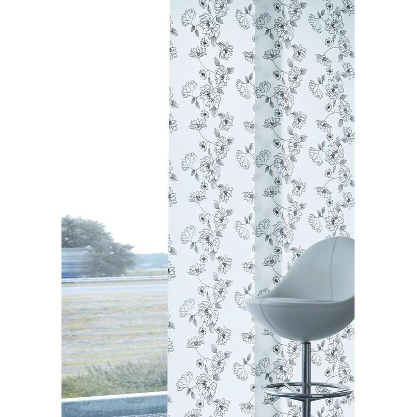 Flächenvorhangpaneel Blüten-Print, indeko kaufen