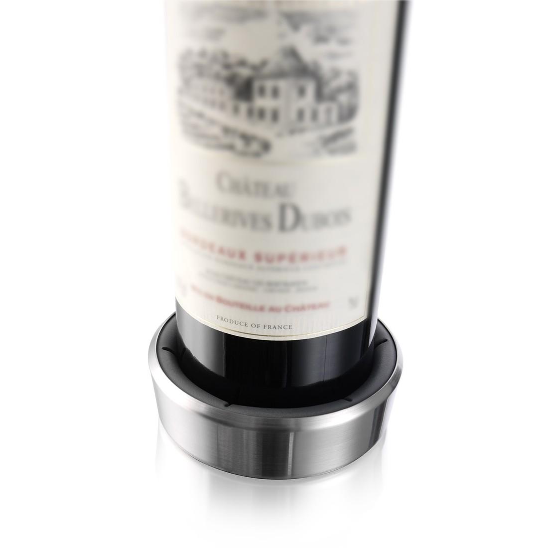 Flaschenuntersetzer (3er-Set) – Edelstahl, Vacu Vin günstig