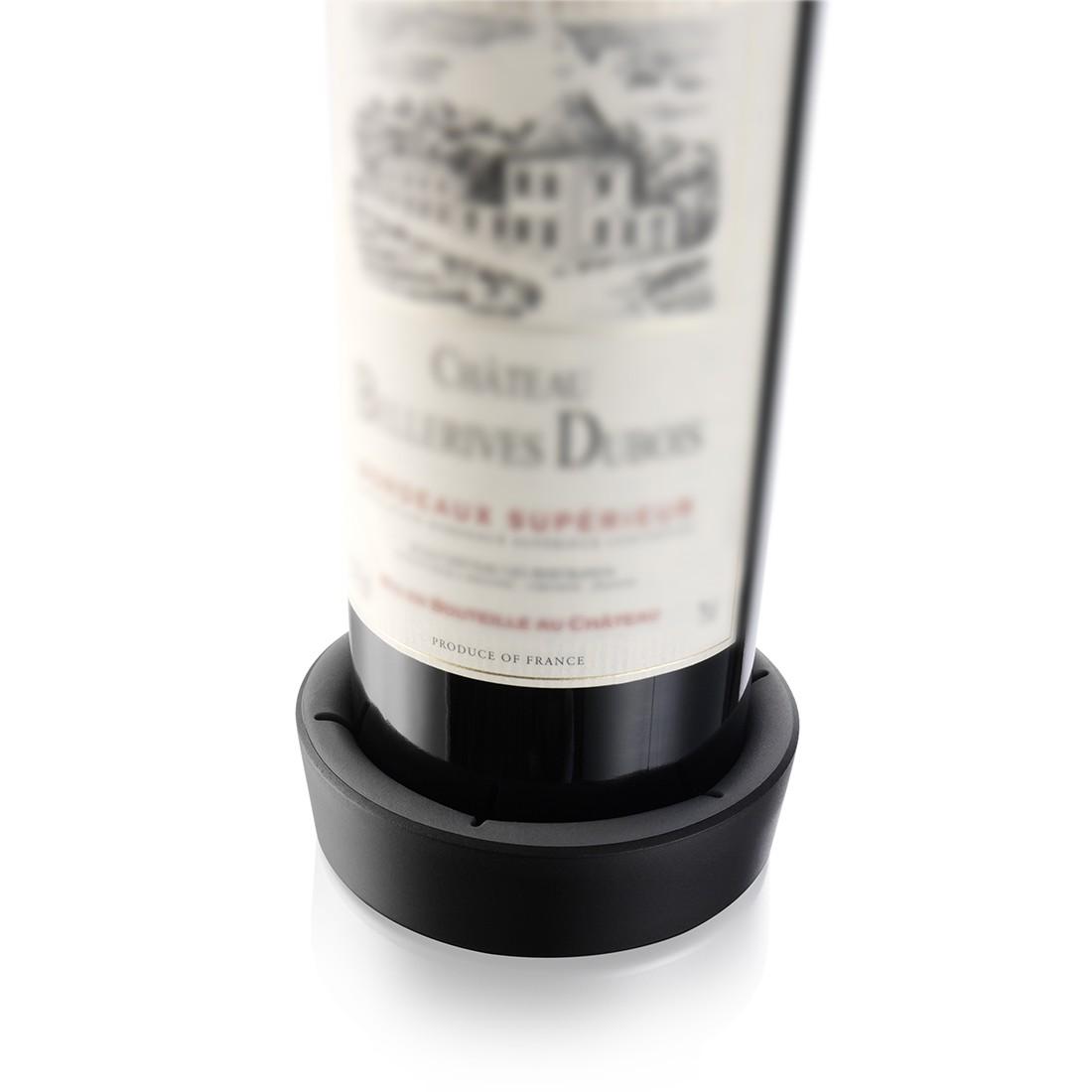 Flaschenuntersetzer (5er-Set) – Schwarz, Vacu Vin kaufen