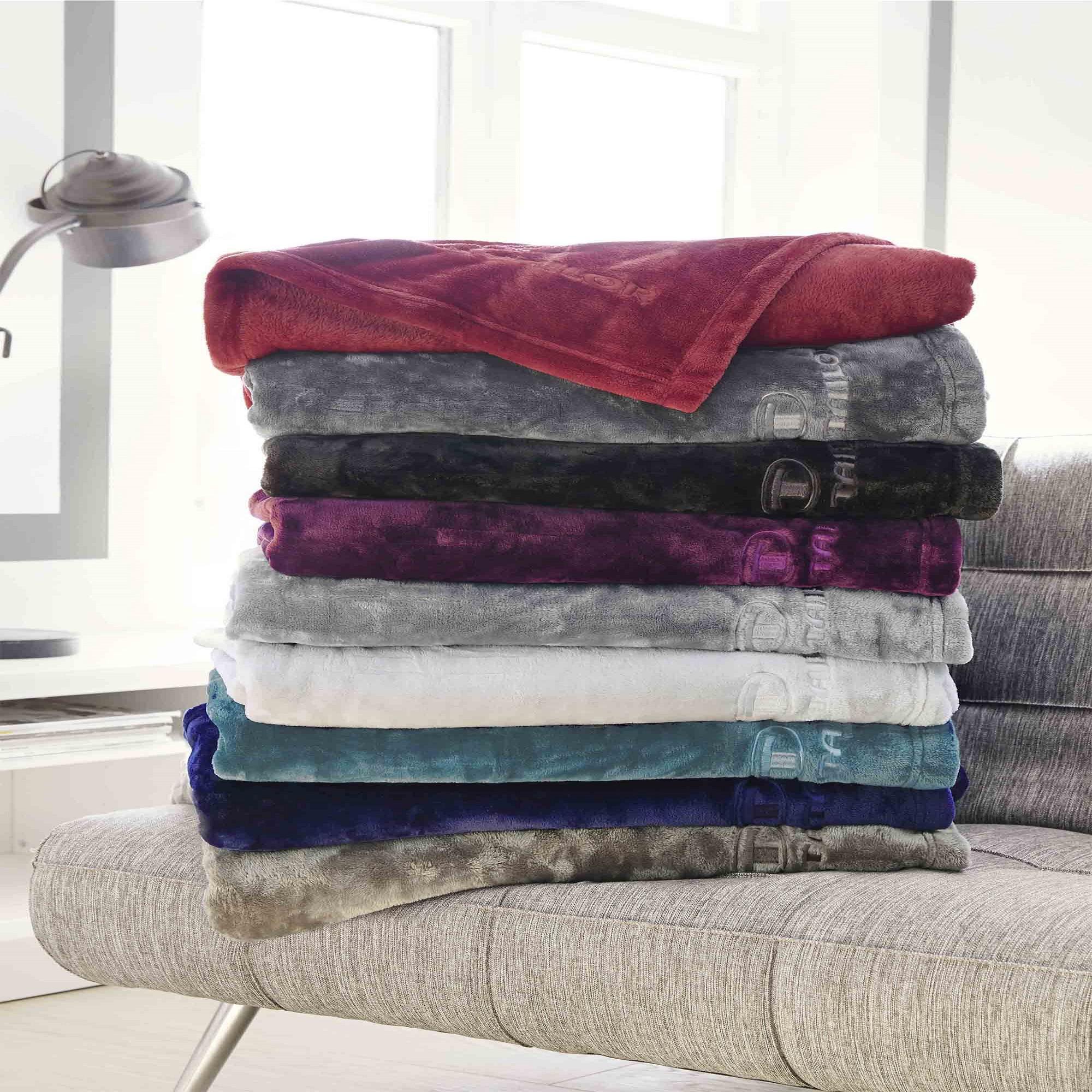 Fleece Decke Angorina – Mint, Tom Tailor günstig bestellen