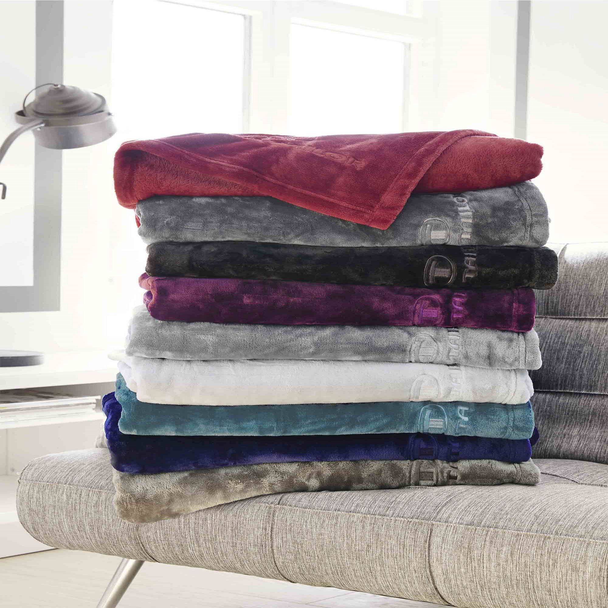fleece decke angorina petrol tom tailor kaufen. Black Bedroom Furniture Sets. Home Design Ideas
