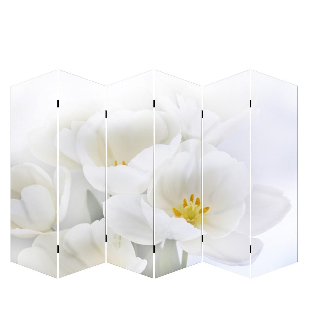 Paravent Somme aus 6 Panels – 180 x 240 cm – Orchidee, Mendler kaufen