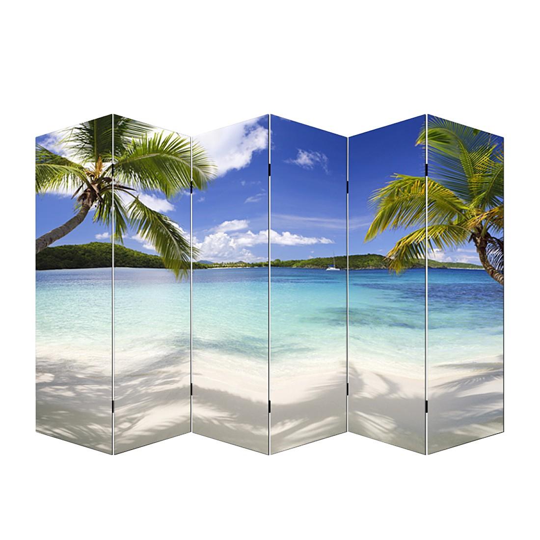 Foto-Paravent Somme - 6 Panels - 180x240cm - Strand