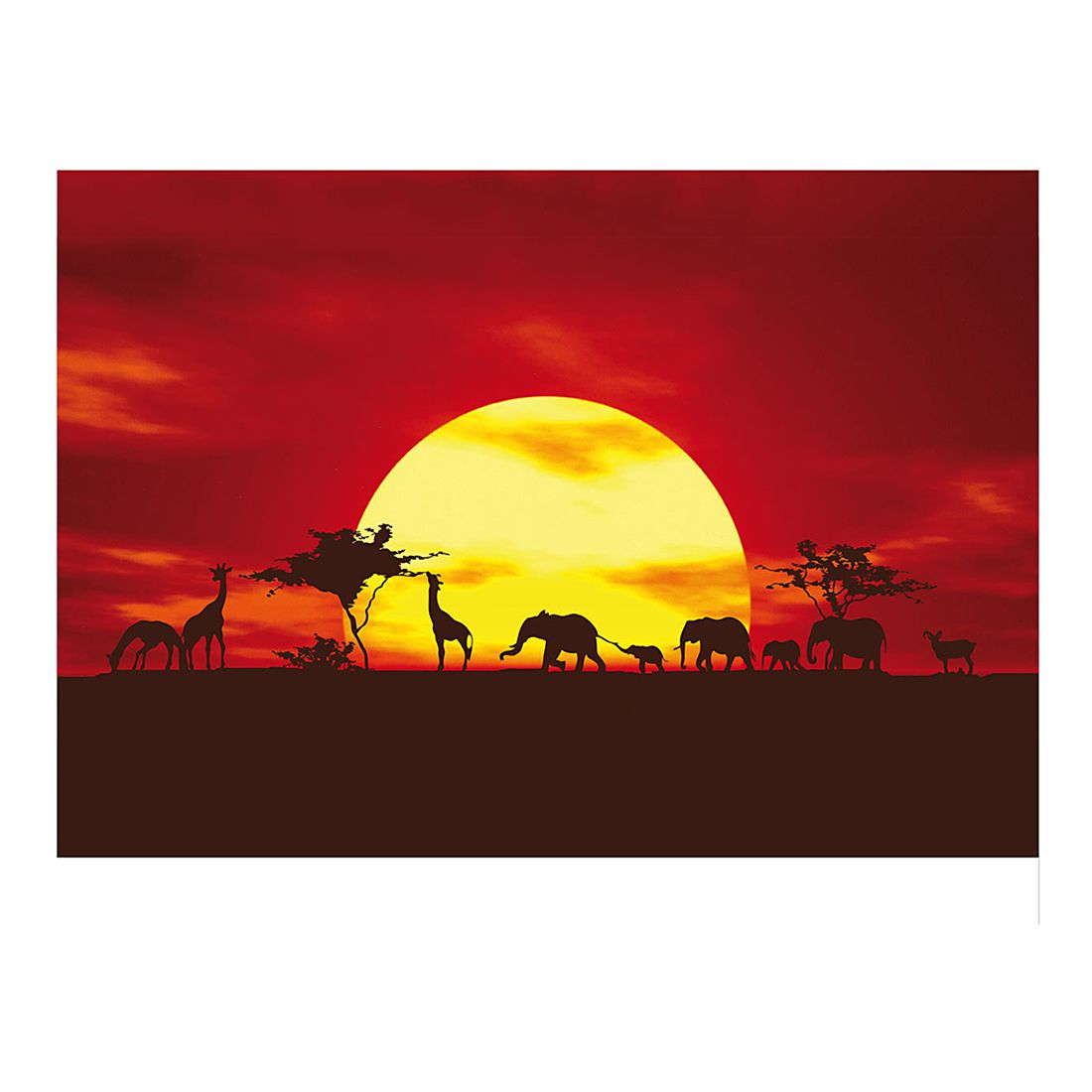 Fototapete African Caravan, Mantiburi günstig