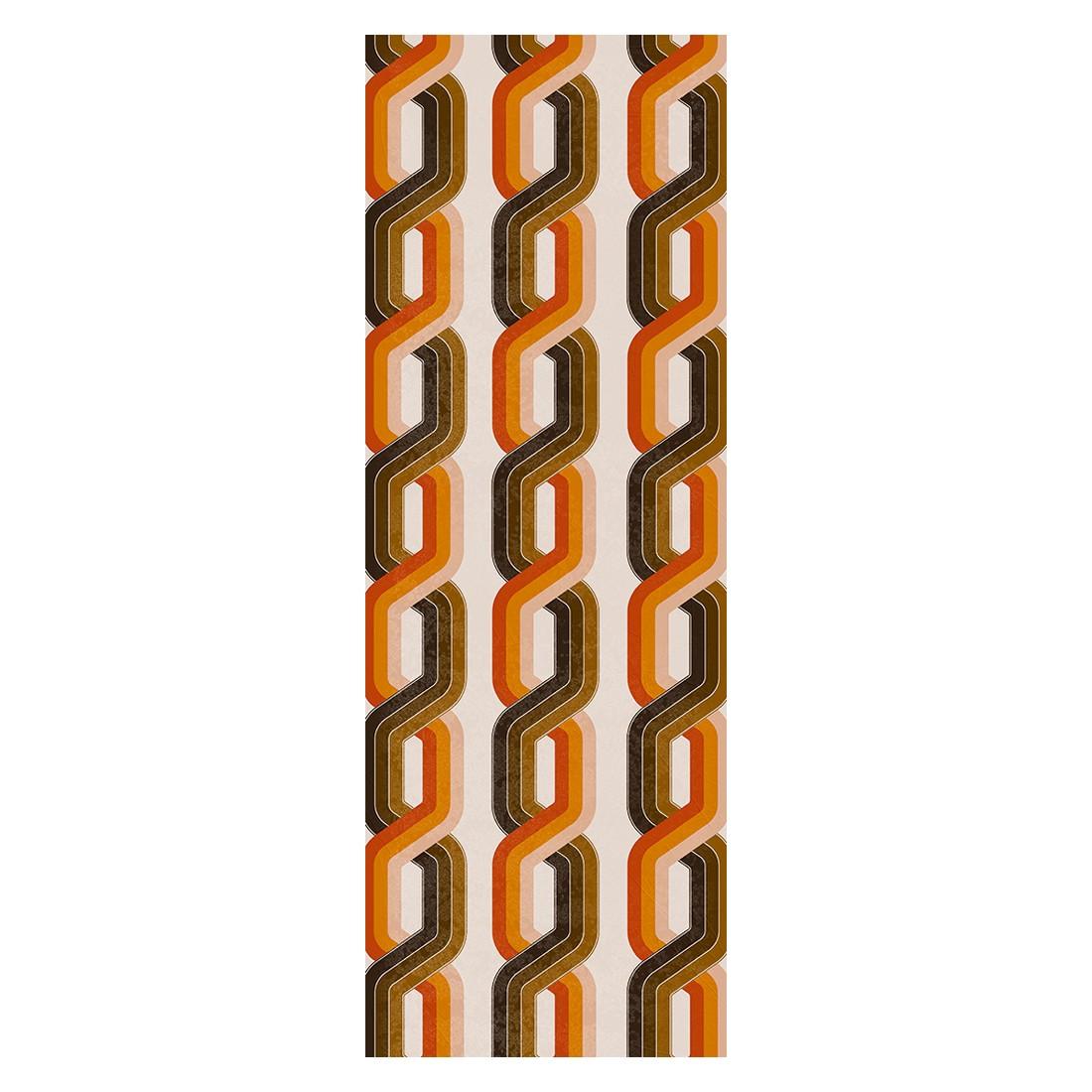 Decopanel Chains – orange, braun – glatt, Architects Paper günstig