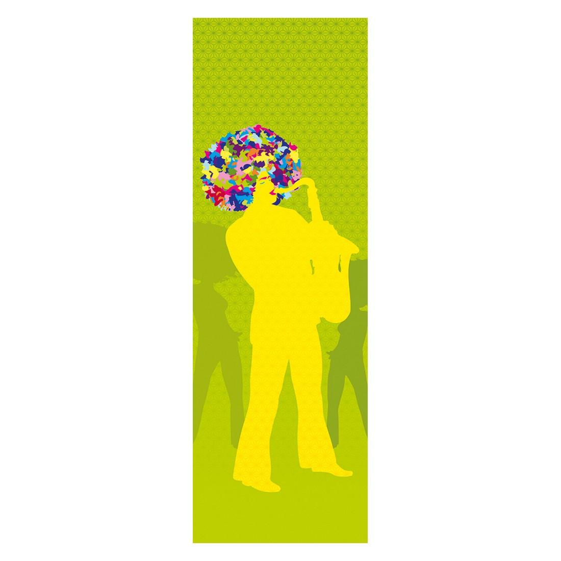 Decopanel Funky vibes green – grün, gelb, bunt – glatt, Architects Paper jetzt kaufen