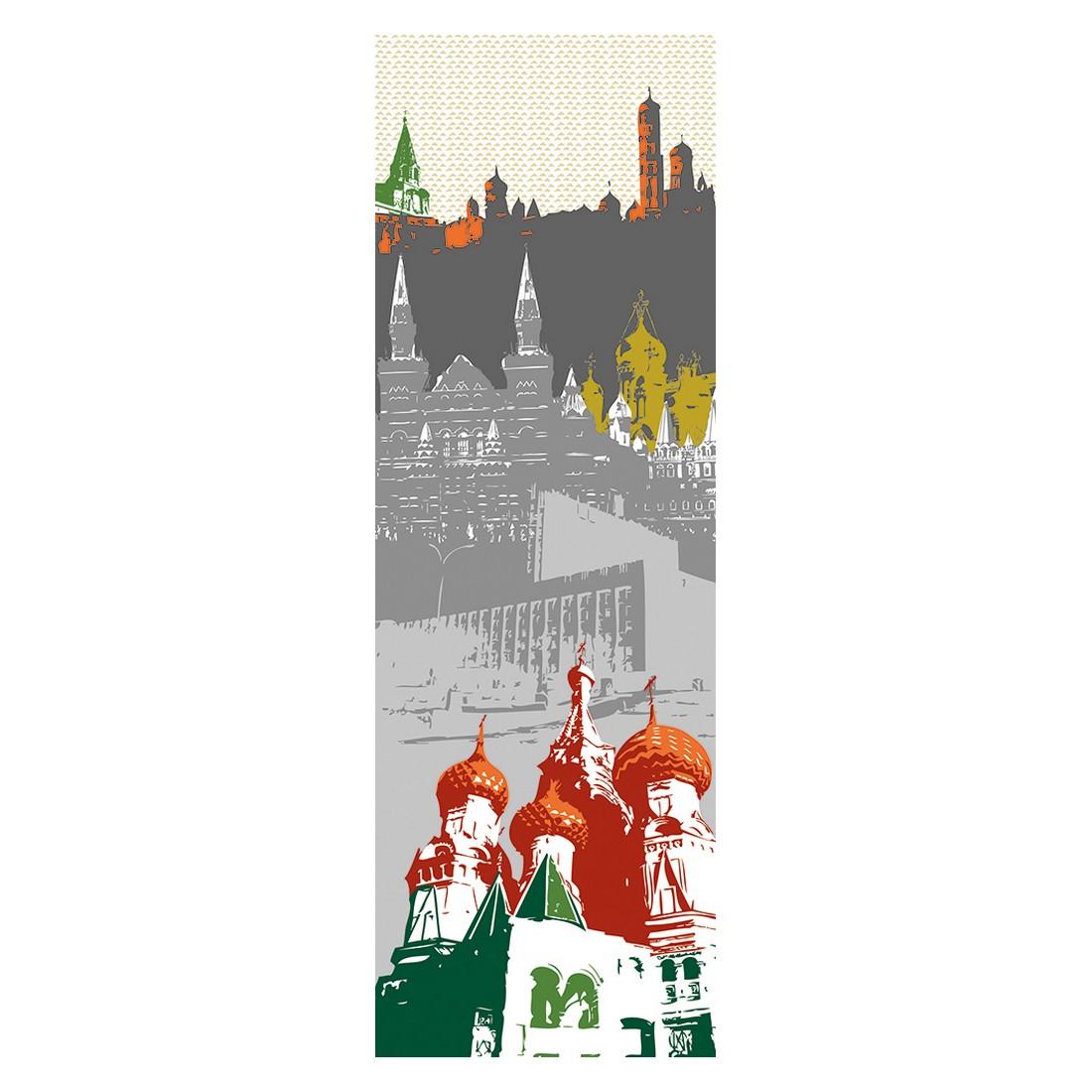 Decopanel Moskau – grau, rot, grün – glatt, Architects Paper online bestellen