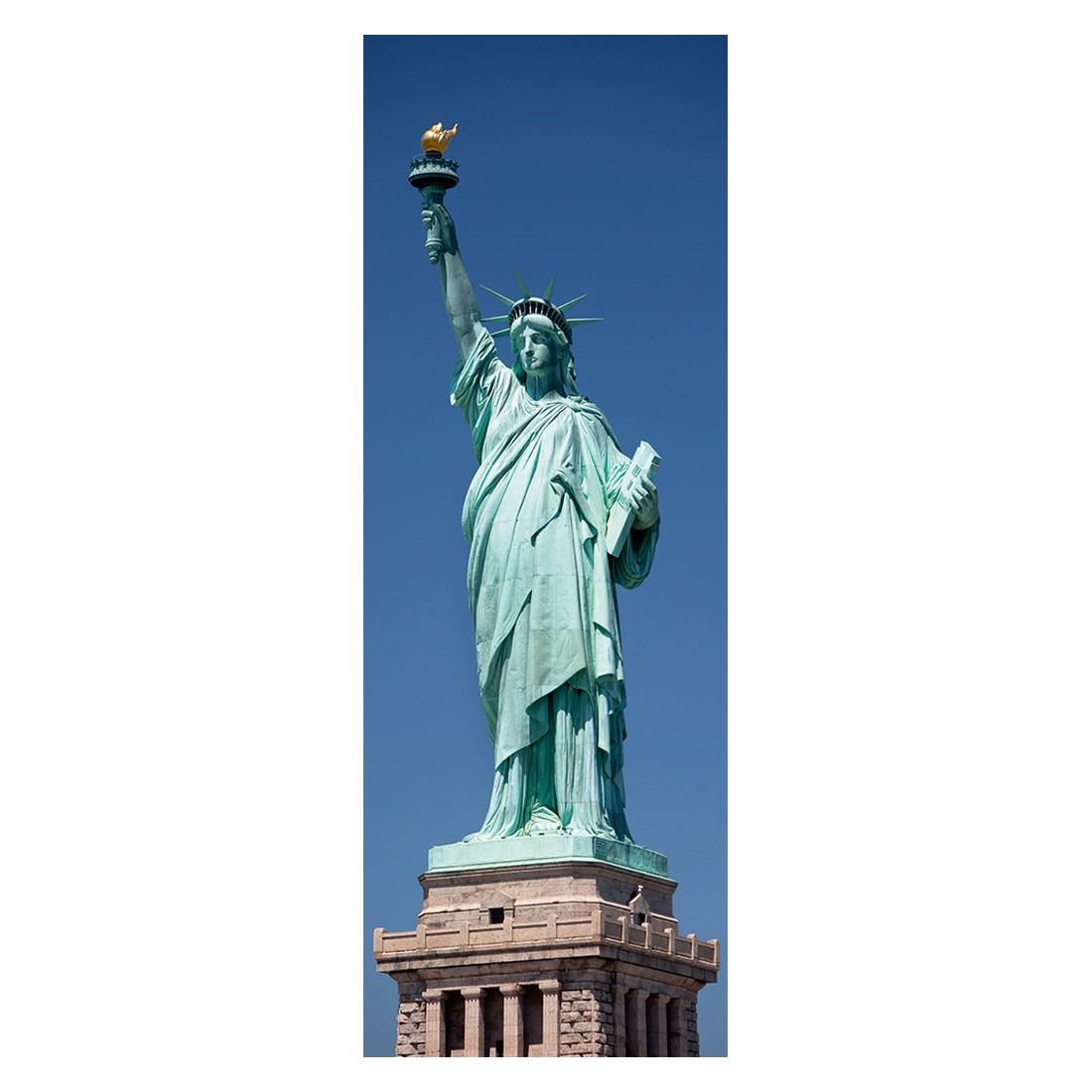 Decopanel Statue of Liberty – blau, grau, grün – glatt, Architects Paper günstig kaufen