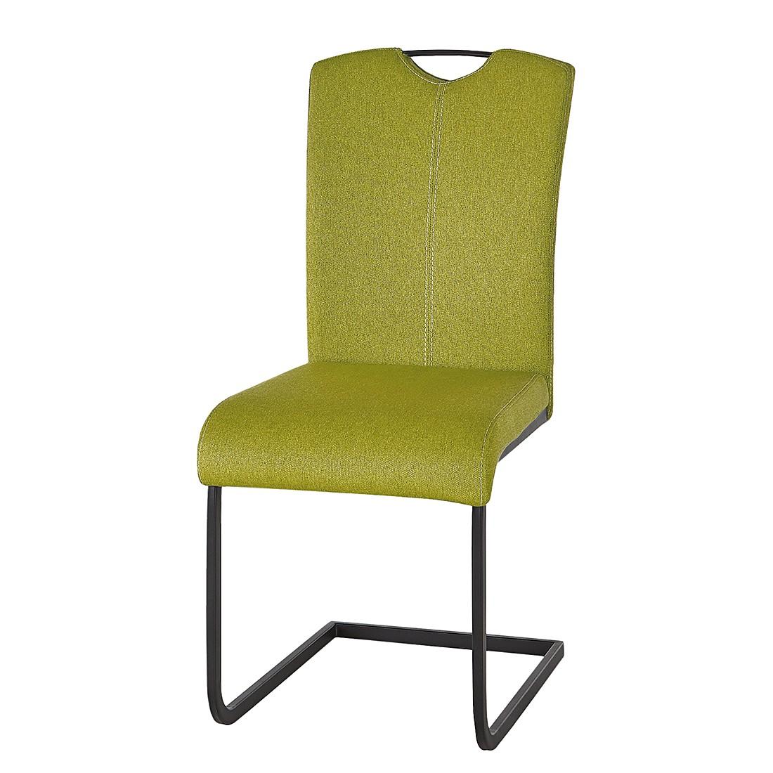 Freischwinger Ranaa (2er-Set) – Webstoff Grün, Studio Monroe günstig kaufen
