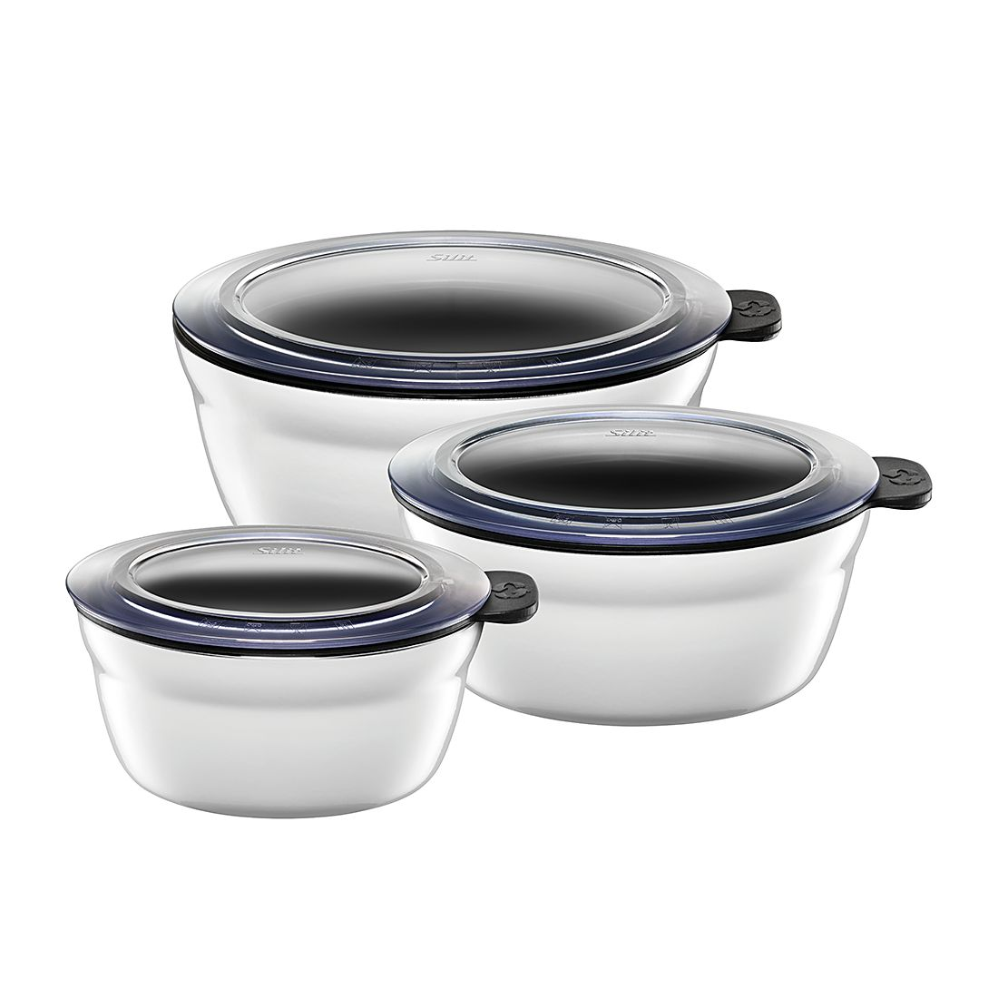 Fresh Bowls-Set (3-teilig) Polar White, Silit günstig online kaufen