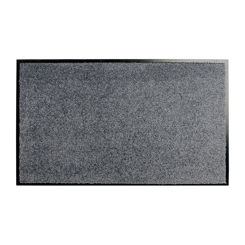 Fuß- und Sauberlaufmatte Wash & Clean - Grau - 40 x 60 cm, Hanse Home Collection