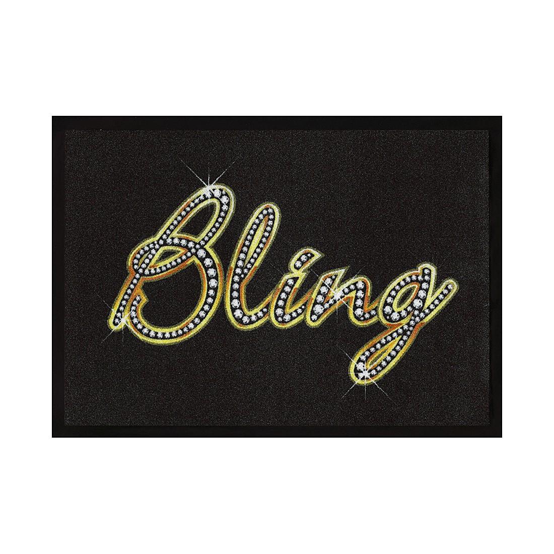 Fußmatte Bling – Schwarz/Gold, Pro Art günstig online kaufen