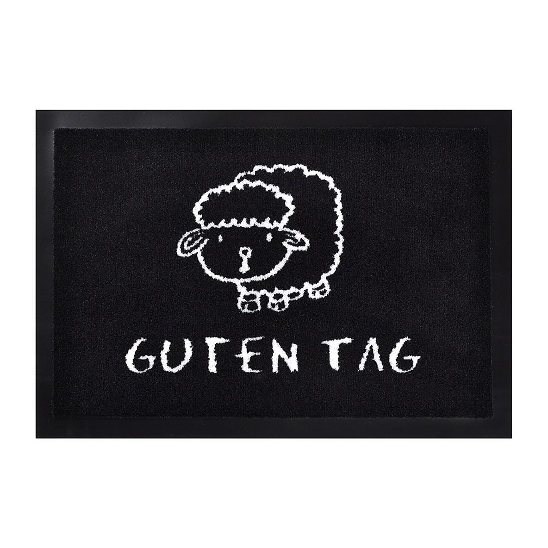 Fußmatte Guten Tag – Schwarz – 40 x 60 cm, Hanse Home Collection günstig