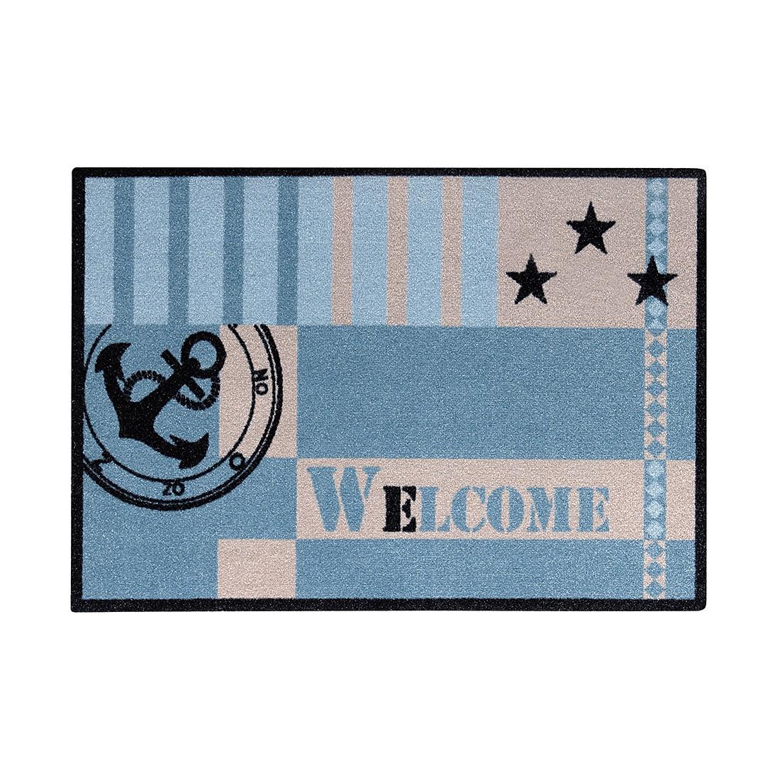 Fußmatte Metropolitan Welcome Marine – Blau – 39 cm x 58 cm, andiamo online kaufen
