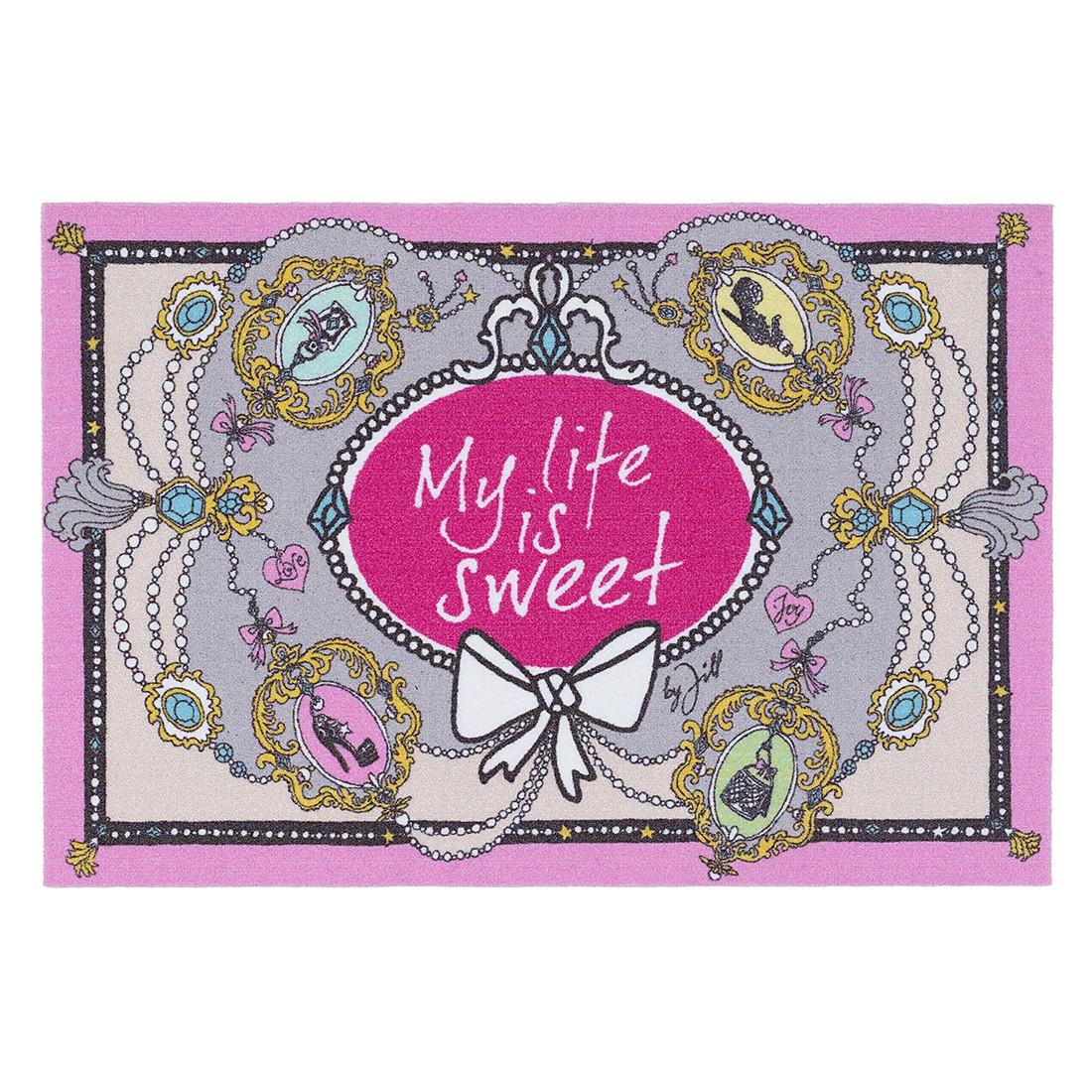 Fußmatte My Life is sweet – Kiesel, Jill – My life is sweet bestellen