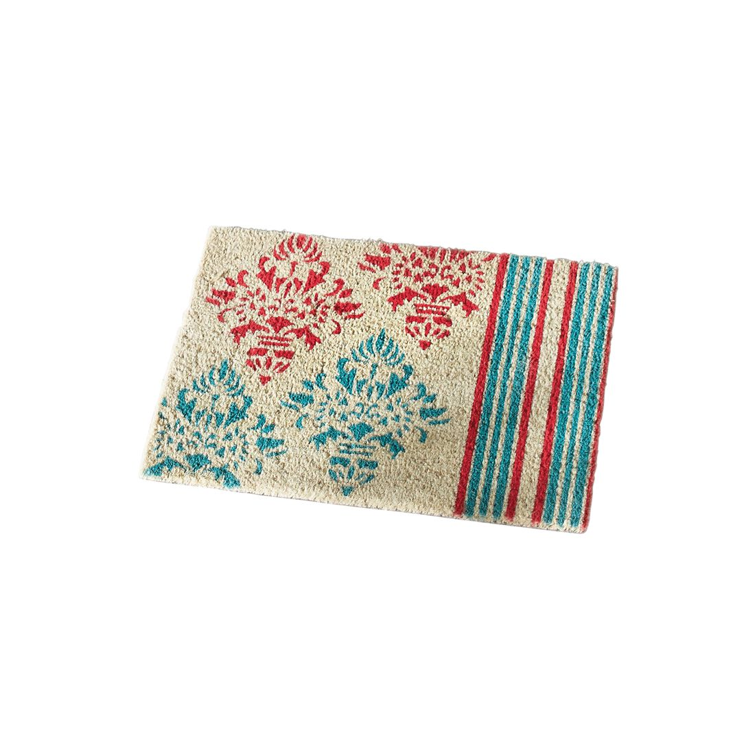 Fußmatte Ornament – Kokos/PVC – Bunt, PureDay online kaufen