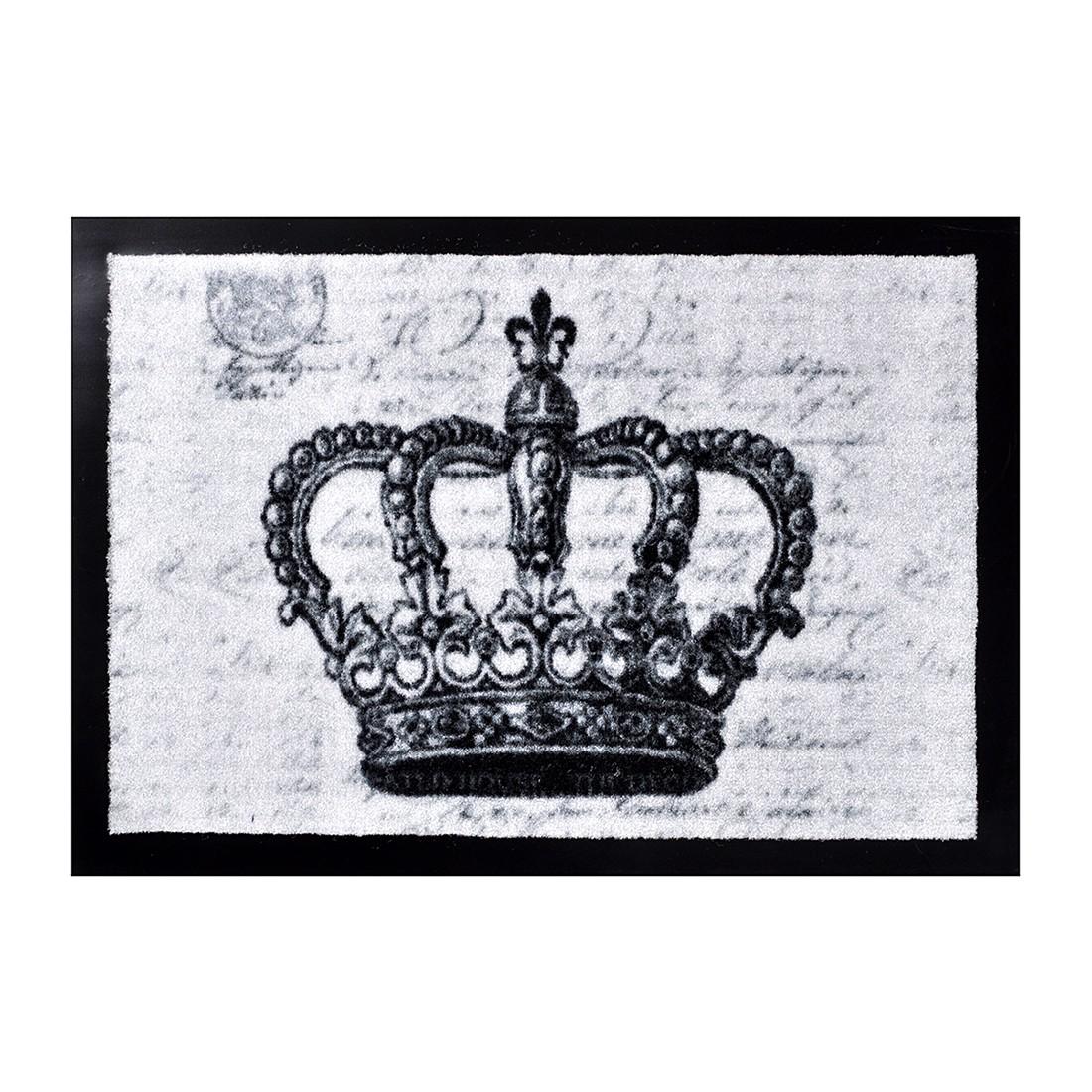 Fußmatte Printy Crown - Grau - 40 x 60 cm, Hanse Home Collection