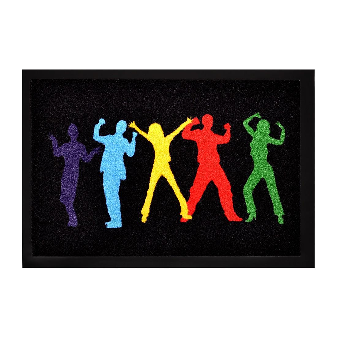 Fußmatte Printy Party People – Mehrfarbig – 40 x 60 cm, Hanse Home Collection günstig online kaufen