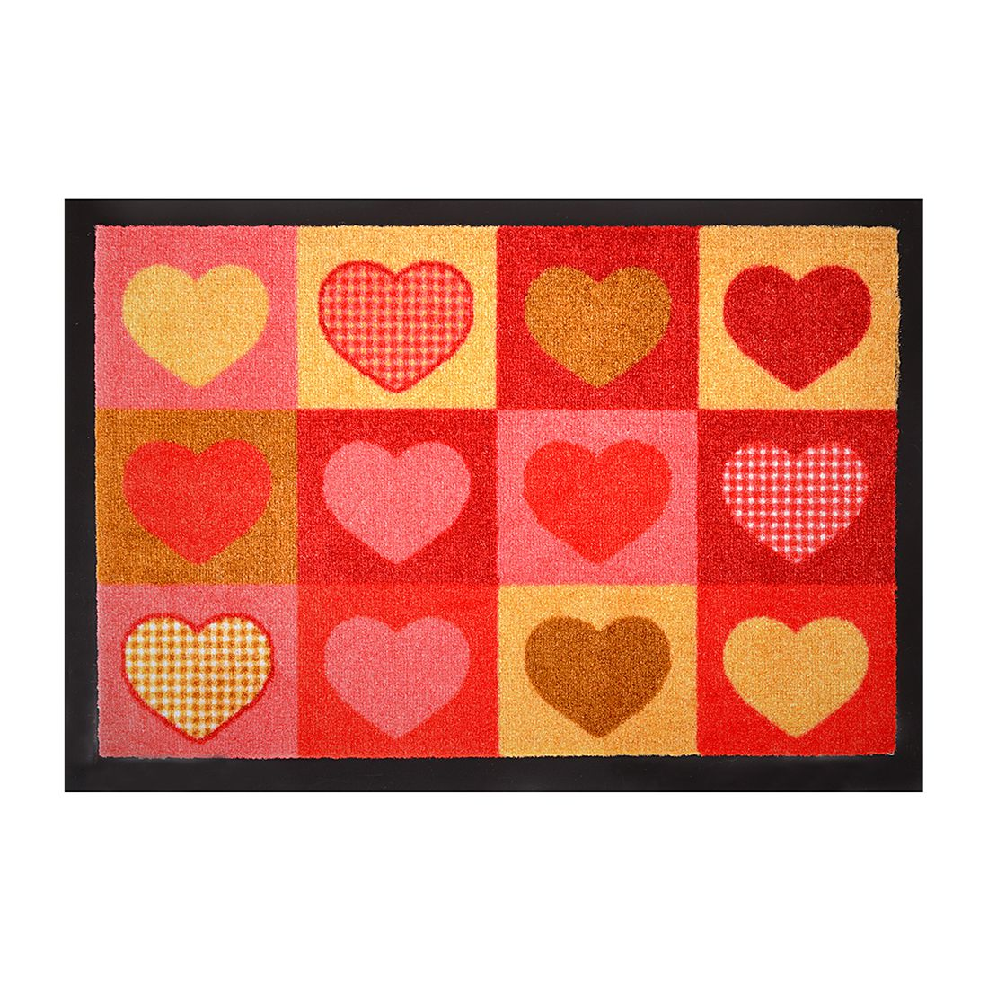 Fußmatte Printy summer hearts – Mehrfarbig – 40 x 60 cm, Hanse Home Collection kaufen