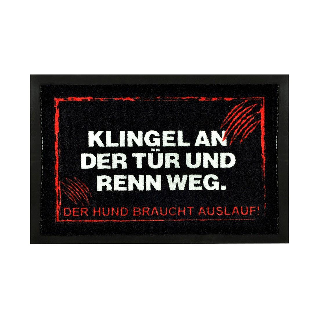 Fußmatte Printy Warnung III, Hanse Home Collection online bestellen