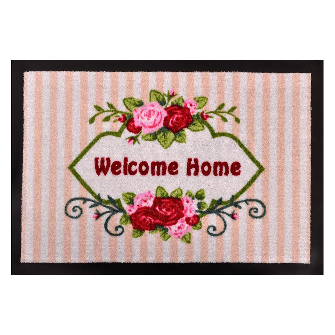 Fußmatte Printy Welcome Home – Mehrfarbig – 40 x 60 cm – 40 x 60 cm, Hanse Home Collection günstig