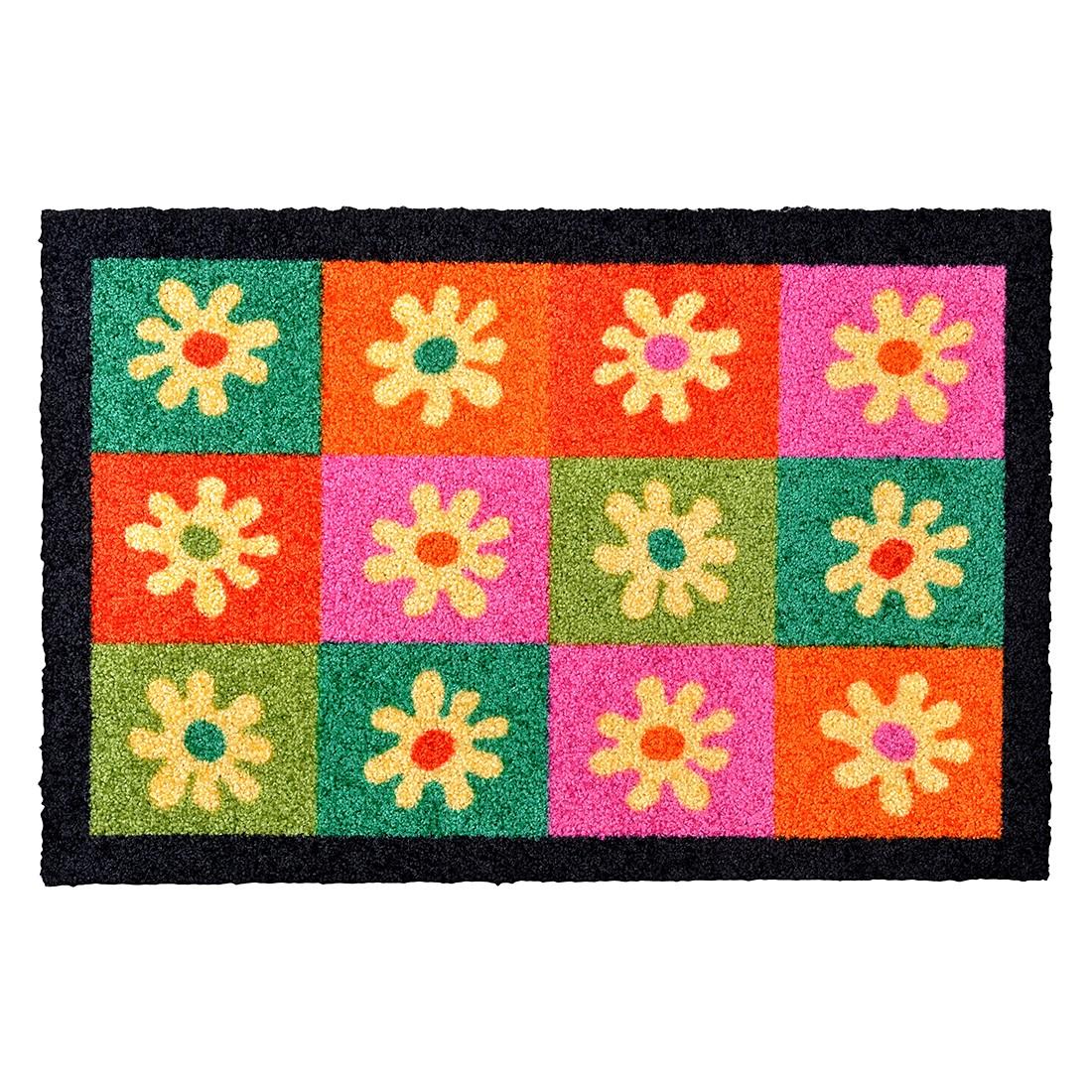 Fußmatte Twisty Flower IV – Mehrfarbig – 40 x 60 cm, Hanse Home Collection kaufen