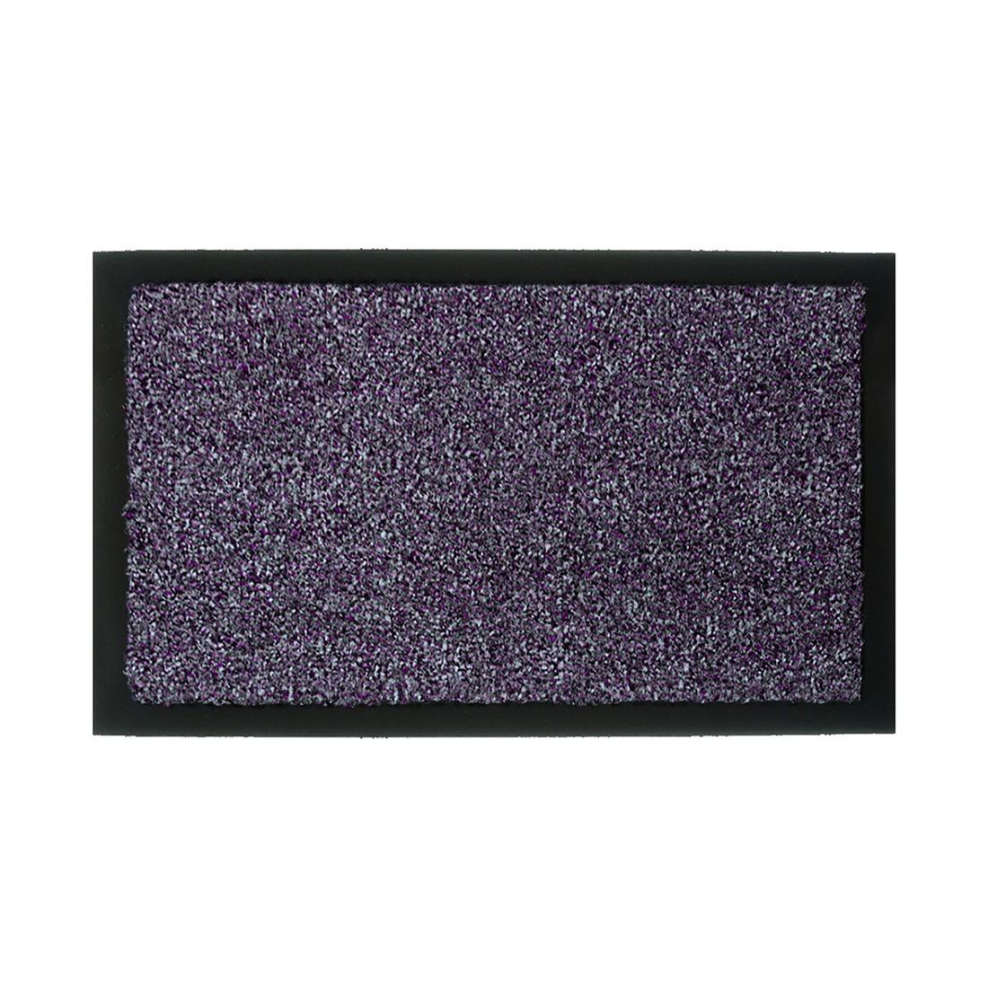 Fußmatte Zircon – Anthrazit/Lila – 90 x 150 cm, Astra jetzt bestellen