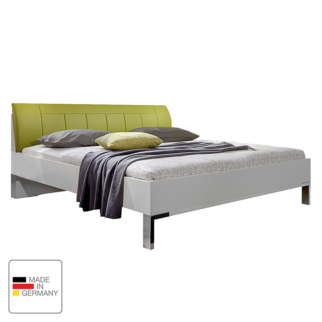 nachtkommode jive alpinwei kunstleder limette mit. Black Bedroom Furniture Sets. Home Design Ideas