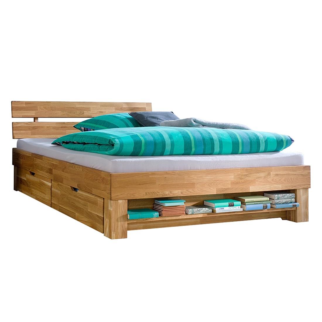 Bett mit bettkasten 140 cm breit preisvergleiche for Bett 140 breit